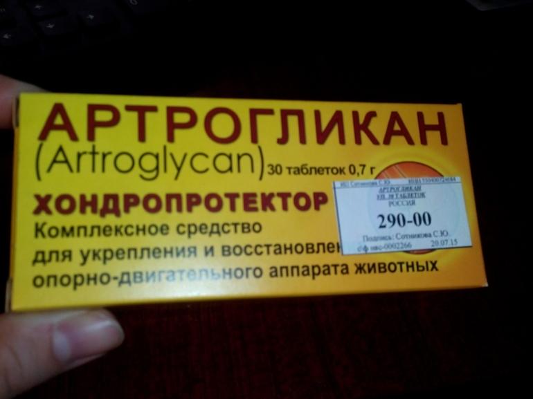 Описание препарата Артрогликан
