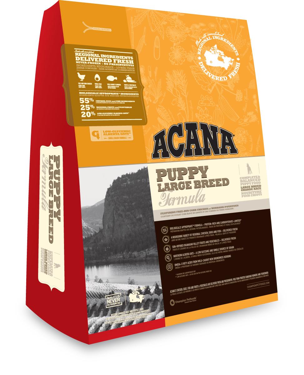 Коробка корма Acana Puppy Large Breed