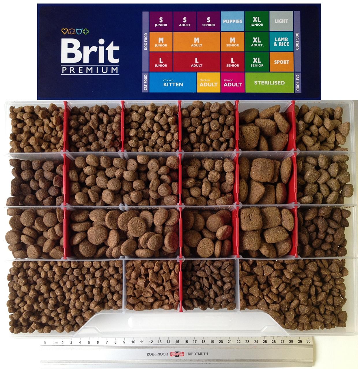 Брит таблица видов корма