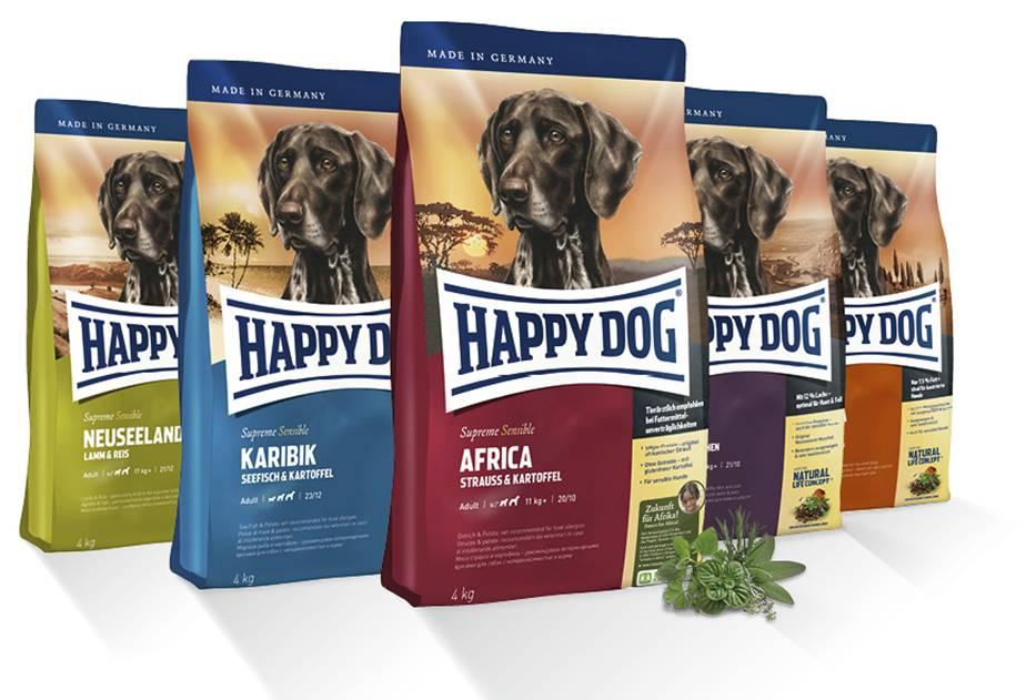 Happy dog рацион для собак