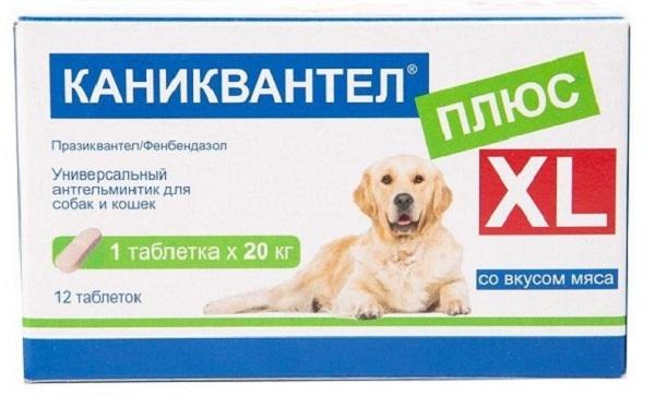 таблетка от паразитов 1 шт