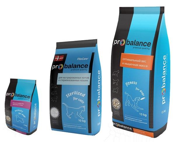 Синяя серия корма Probalance