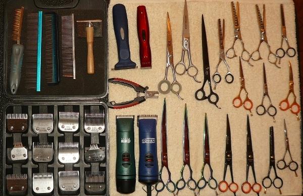 Профессиональный набор инструментов для стрижки собаки