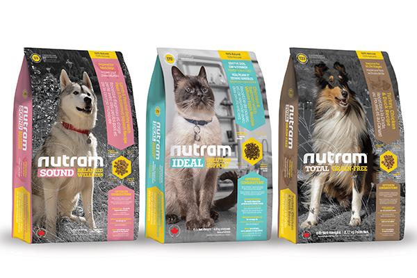 Корм Nutram для животных