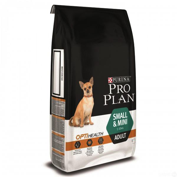 Pro Plan для маленьких и средних собак