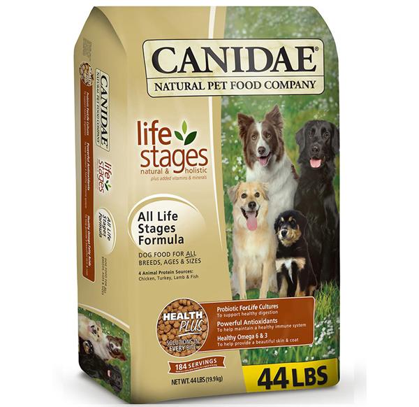 Корм Canidae в упаковке