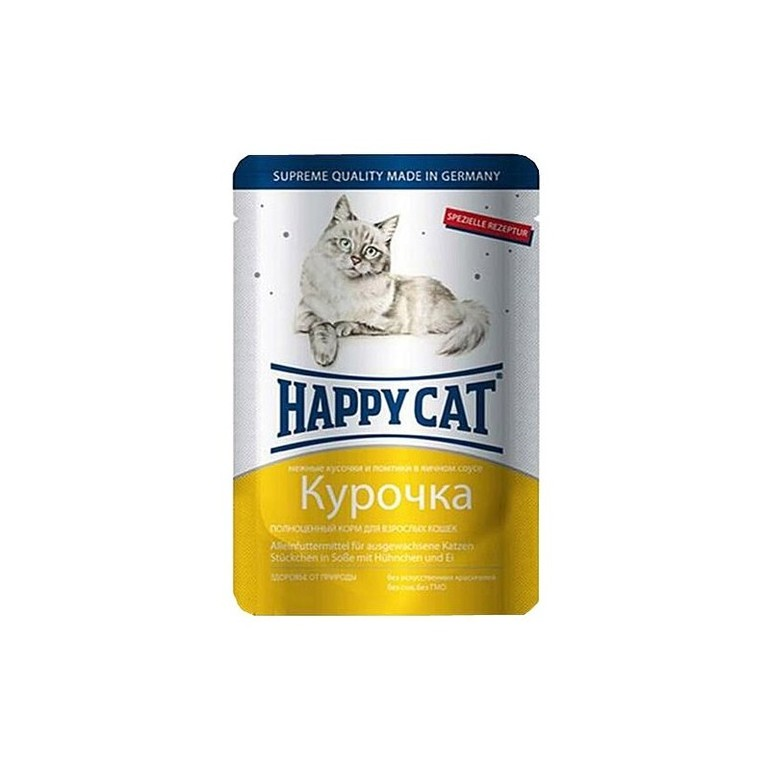 Корм Happy Cat.