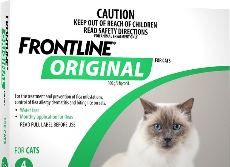Фронтлайн для кошек инструкция по применению