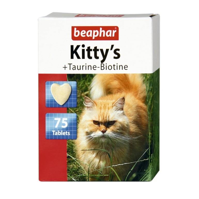 в витаминный комплекс kitty and taurin + biotin