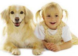 Фото 2. Ребенок со своим животным