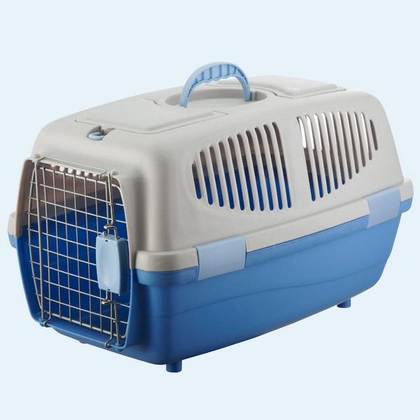 Пластиковая переноска для собак
